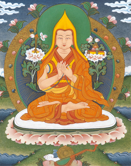 Il Maestro Atisha  Bud_kadam_tsongkhapa